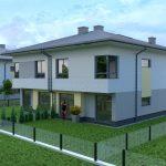wizualizacja domu jednorodzinnego